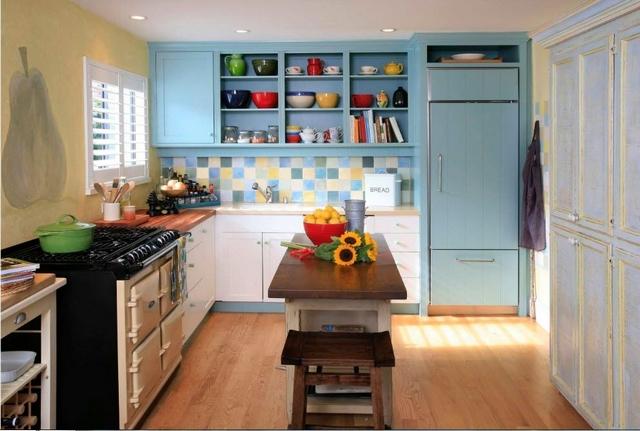 маленькие кухни в стиле прованс 01