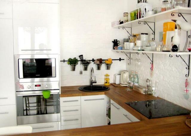 современные кухни совмещённые с гостиной