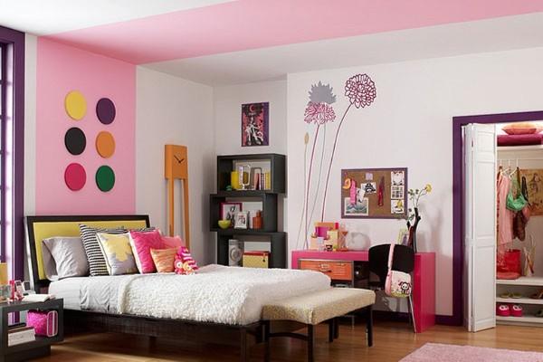 стили оформления интерьера детской комнаты для девочки фото