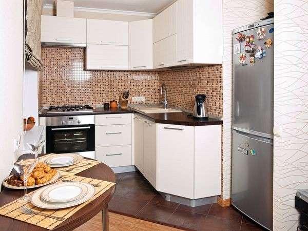 современные угловые кухни дизайн фото, фото 6