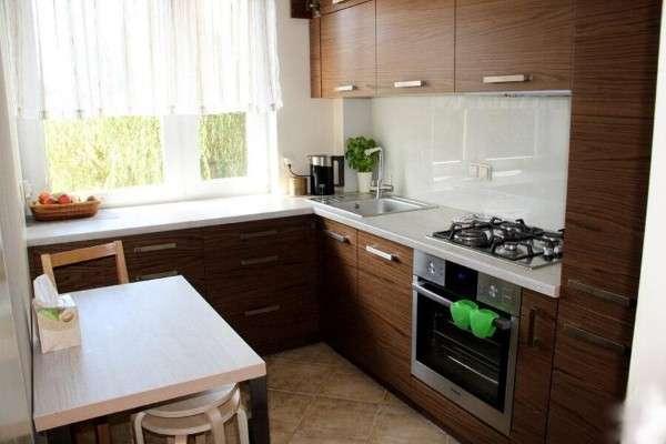 современная кухня 6 кв м, фото 7