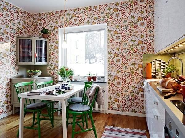 обои для кухни моющиеся каталог купить, фото 12