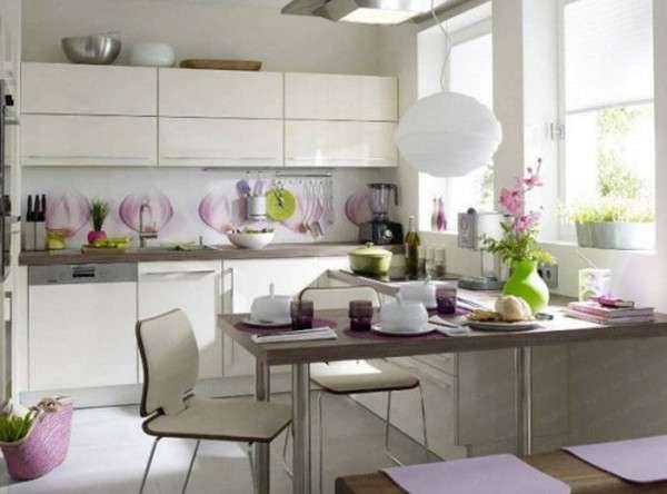современный дизайн маленькой кухни фото, фото 15