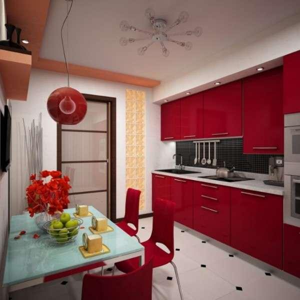 современные маленькие кухни, фото 16