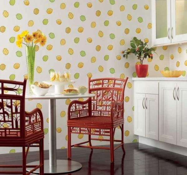 обои для кухни моющиеся каталог купить, фото 26
