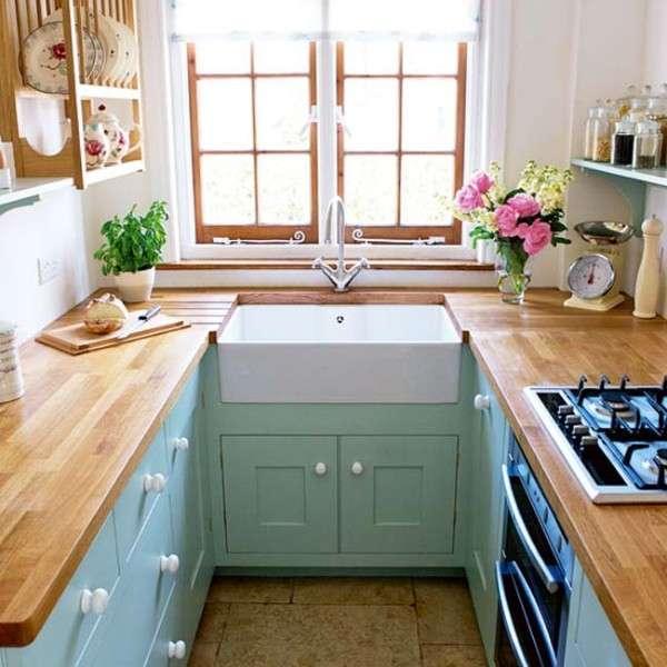 угловая кухня в современном стиле, фото 19