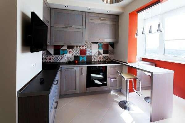 маленькая современная кухня фото, фото 21