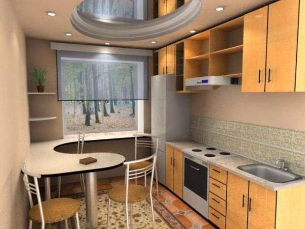 современная кухня в хрущевке фото, фото 39