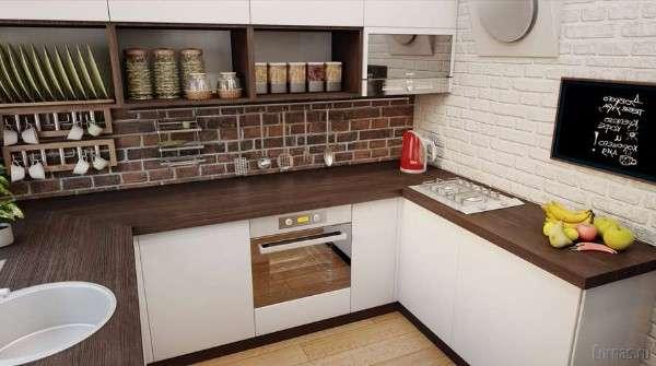 современные кухни в хрущевках, фото 41