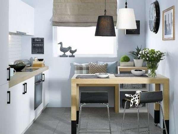 маленькая современная кухня фото, фото 32