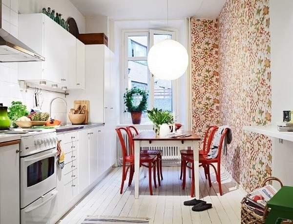 купить обои моющиеся для кухни фото, фото 42