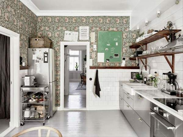 обои для кухни моющиеся каталог фото, фото 45