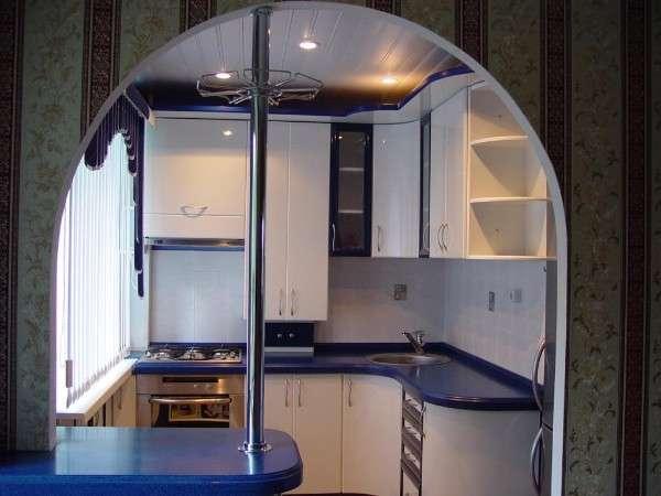 современная кухня в хрущевке фото, фото 42
