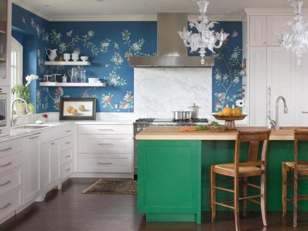 моющиеся обои для кухни леруа мерлен, фото 48