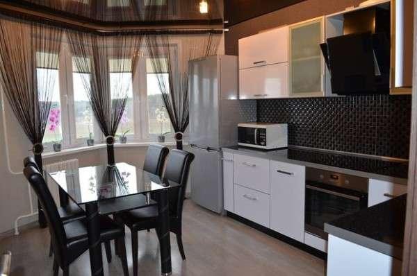современная небольшая кухня, фото 3