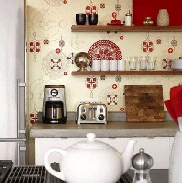 моющиеся обои для кухни купить, фото 50