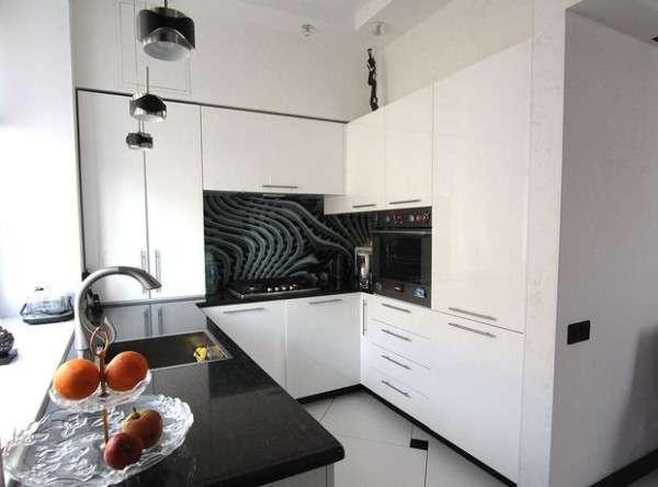 оформление кухни в современном стиле фото, фото 34