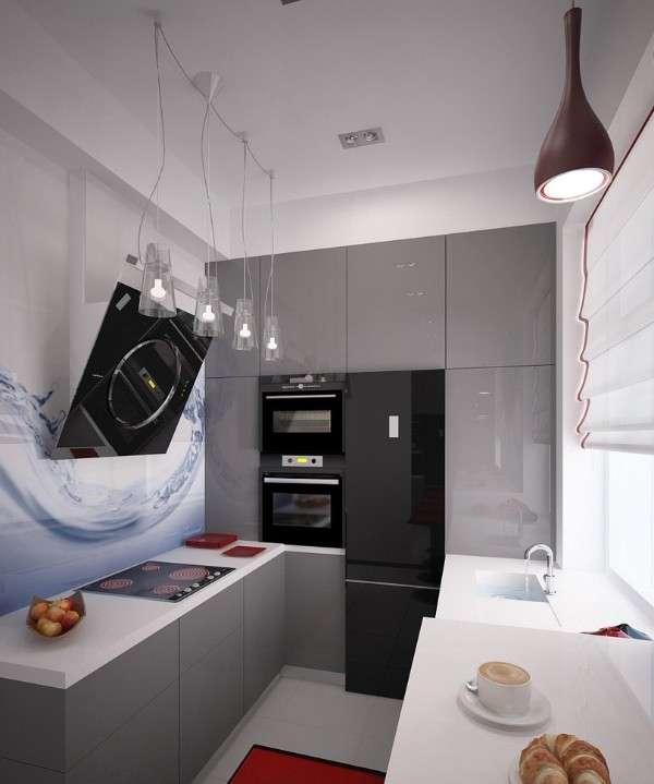 современные кухни с барной стойкой, фото 62