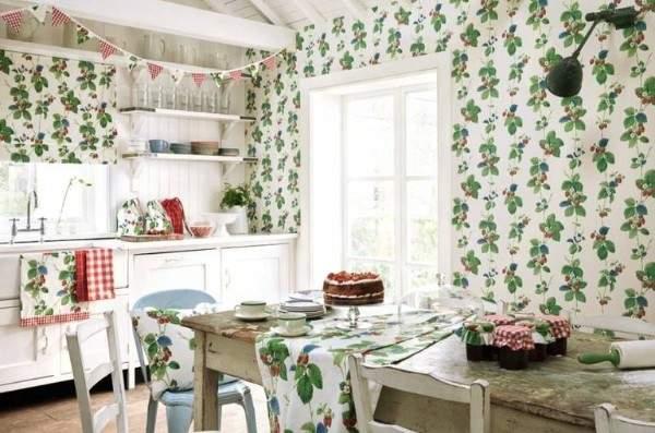 обои для кухни моющиеся каталог купить, фото 54