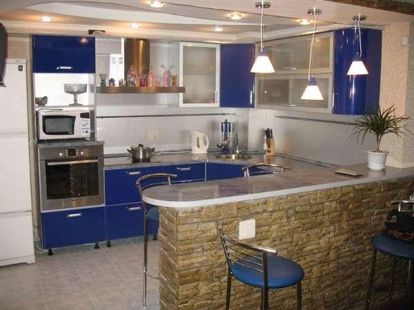 современные маленькие кухни, фото 63