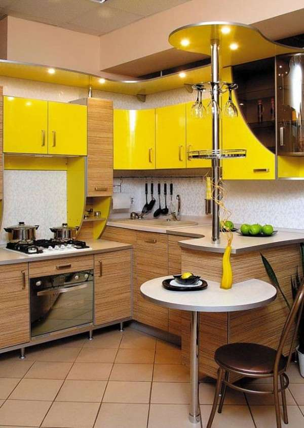 современные небольшие кухни фото, фото 64