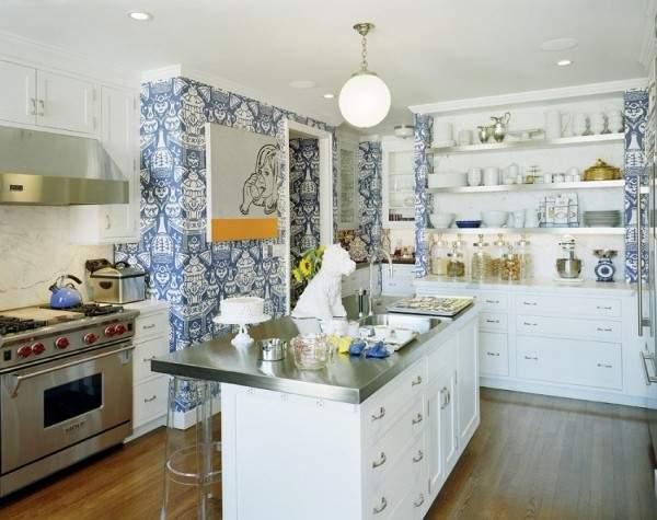 моющиеся обои для кухни, фото 57