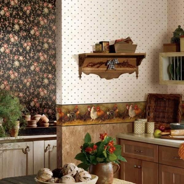 обои для кухни виниловые моющиеся, фото 63