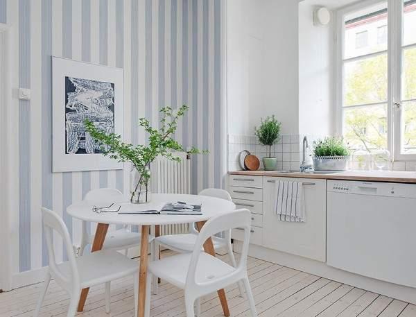недорогие обои для кухни моющиеся, фото 65