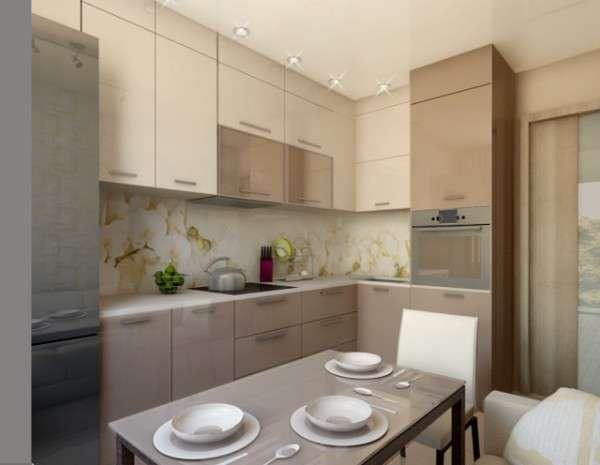 угловая кухня в современном стиле, фото 47