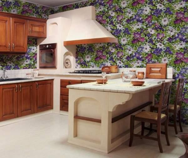 обои для кухни моющиеся каталог купить, фото 68