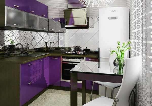 современная кухня 8 кв м дизайн фото, фото 4