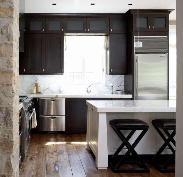 угловая кухня в современном стиле, фото 51