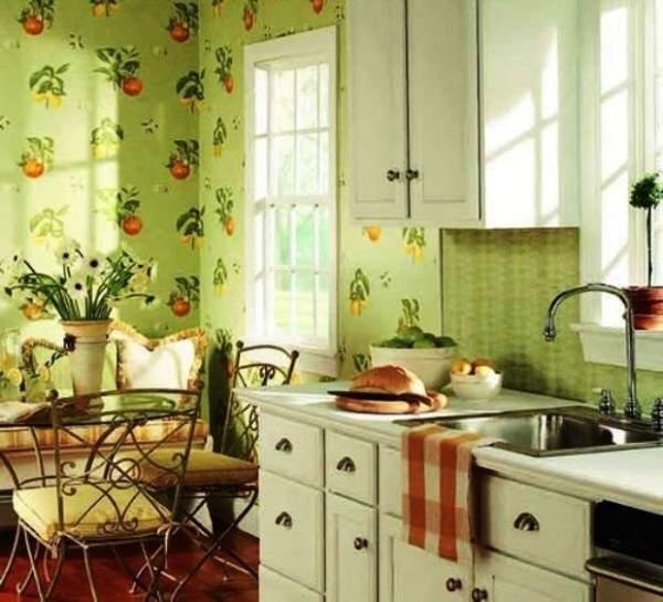 купить обои моющиеся для кухни фото, фото 70