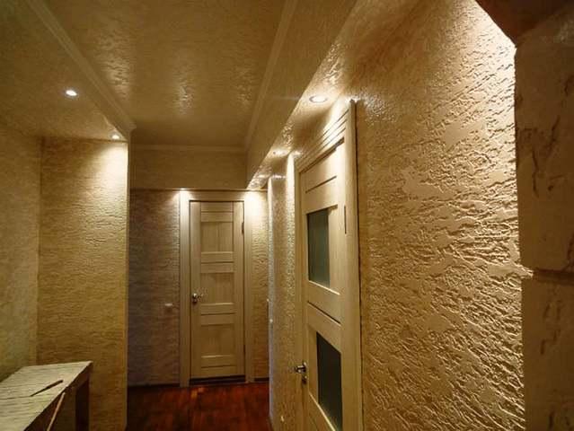 Декоративная штукатурка короед – 50 фото интерьера и фасадов дома