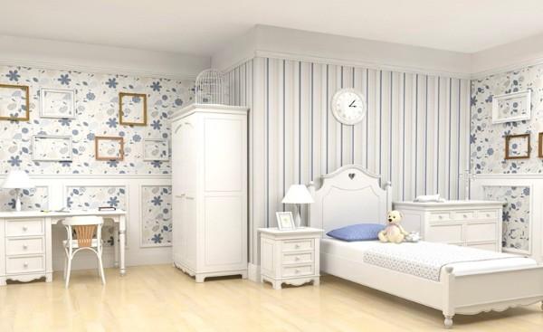 Интерьер детской комнаты в стиле прованс, фото 24