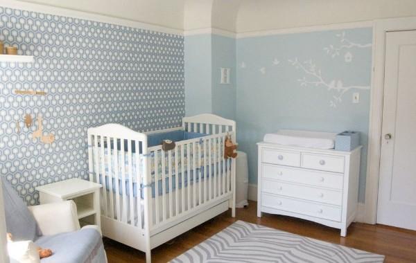Интерьер для детской комнаты новорожденного, фото 43