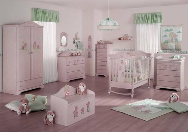 Интерьер для детской комнаты новорожденного, фото 47