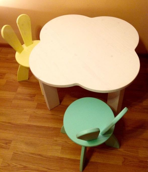 Детский стол из фанеры, фото 58