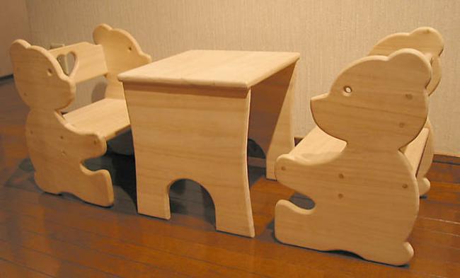 Детский стол из фанеры своими руками, фото 18