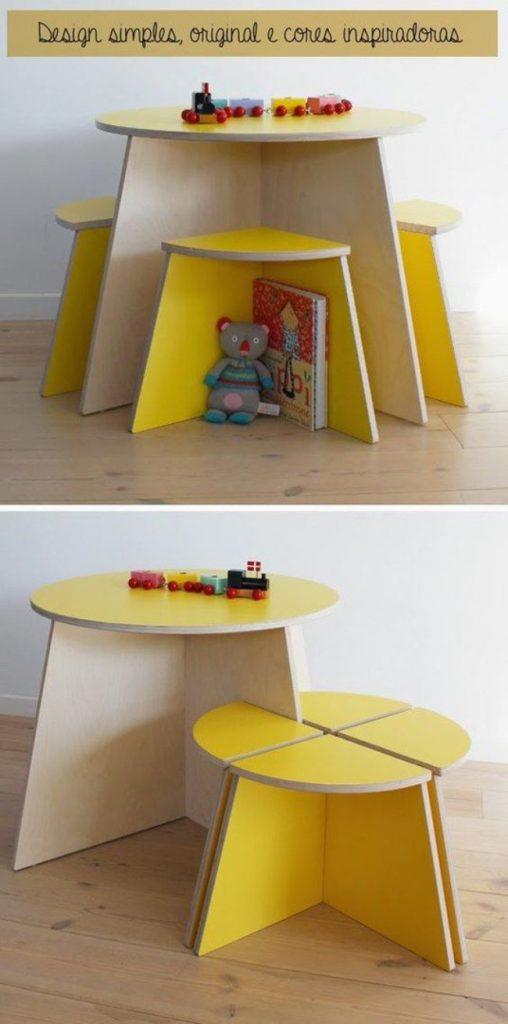 Детский стол из фанеры своими руками, фото 16