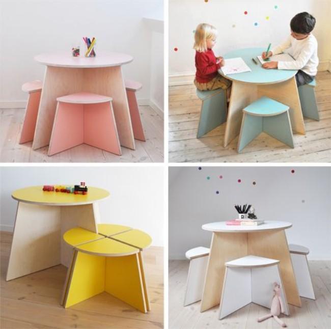 Детский стол из фанеры своими руками, фото 17