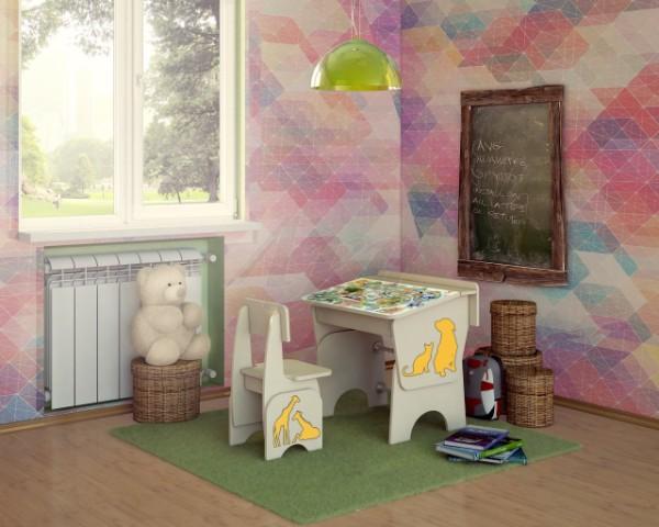 Детский стол из фанеры, фото 57