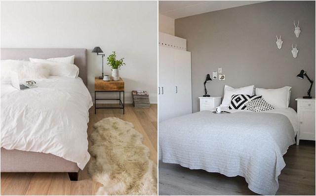 дизайн скандинавской спальни