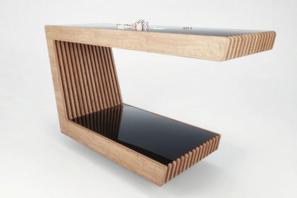 Гнутый стол из фанеры, фото 10