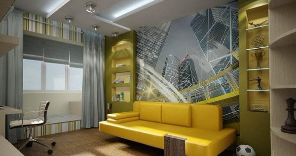 Современный интерьер детской комнаты, фото 5