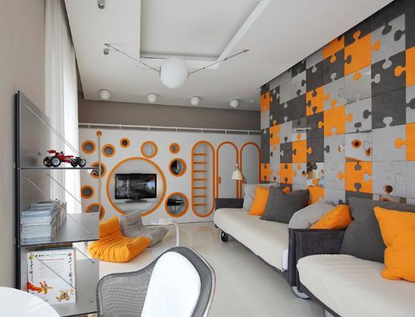 Красивый интерьер детской комнаты, фото 9