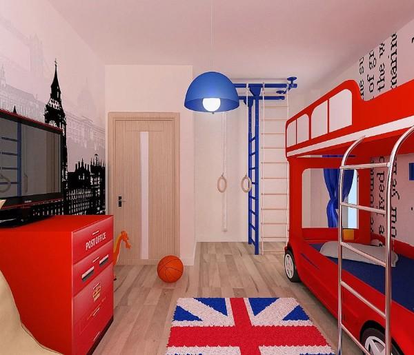 Красивый интерьер детской комнаты, фото 10