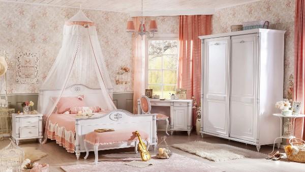 Интерьер детской комнаты в классическом стиле, фото 30