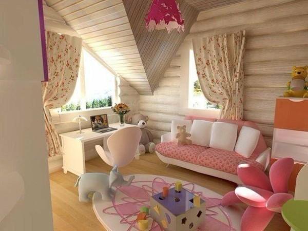 Интерьер детской комнаты в стиле прованс, фото 25