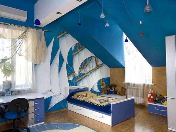 Стили интерьера детской комнаты, фото 17
